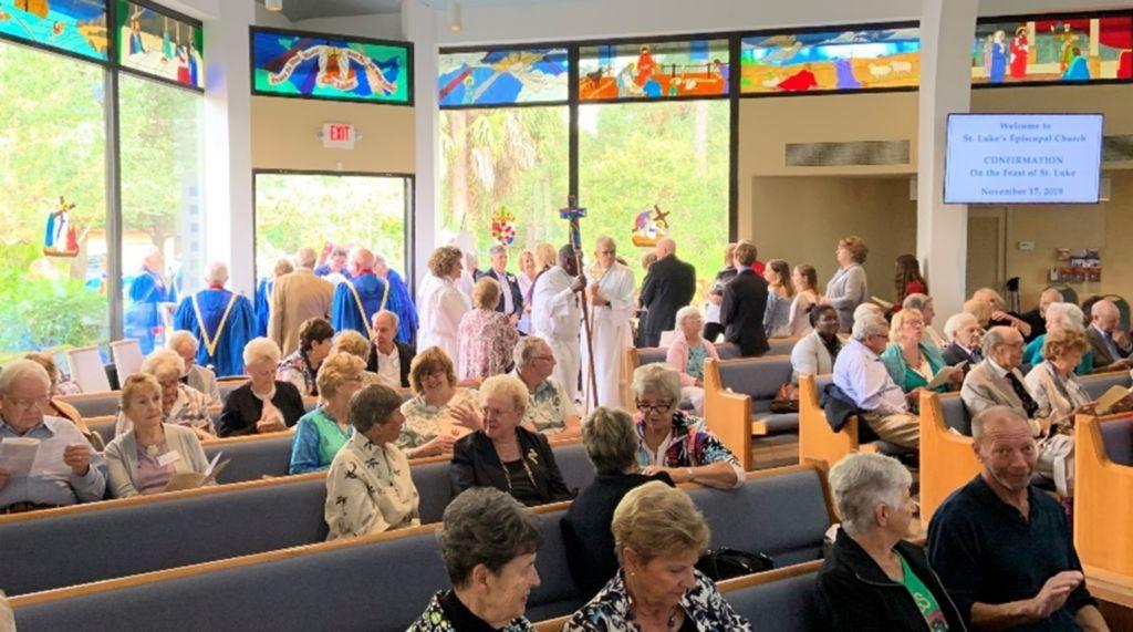 congregation for church service